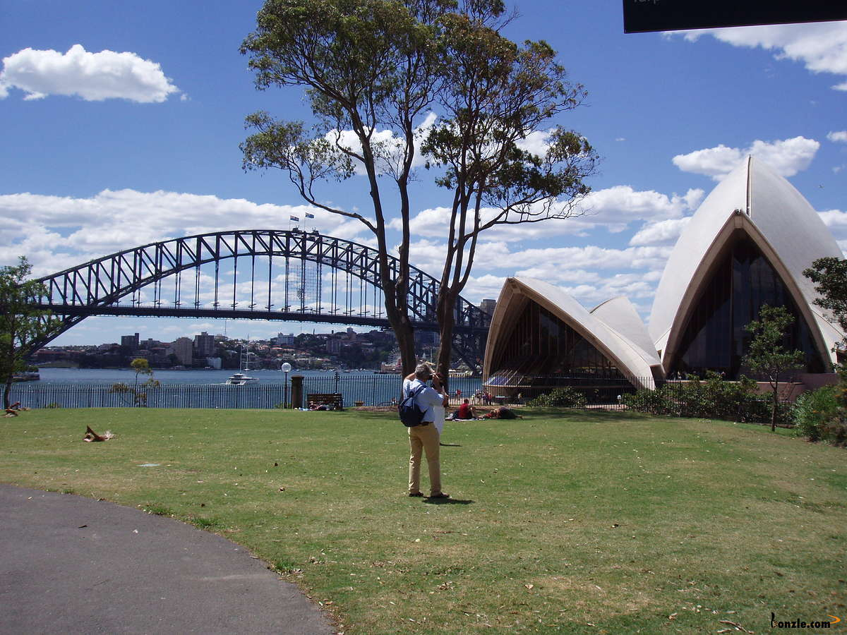 Picture of / about 'Sydney' New South Wales - Above the Sydney Opera House