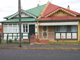 Picture relating to Dubbo - titled 'Example of Edwardian style semi-detached houses in Dubbo'