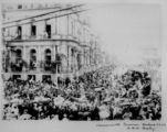 Picture relating to Brisbane - titled 'Commonwealth procession celebrates Federation Day, Brisbane, 1901'