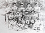 Picture relating to Teebar - titled 'Teebar Rifle Club 1915'