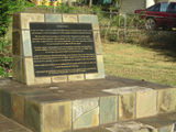 Picture relating to Bamaga - titled 'Memorial on 50th anniversary of exdous from Sabai Is to Mutee Heads'