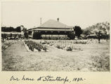 Picture relating to Stanthorpe - titled 'Governor Sir John Goodwin's country house at Stanthorpe, 1932'