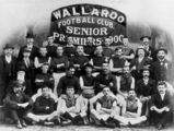 Picture relating to Maryborough - titled 'Wallaroo Football Club, Senior Premiers in 1900'