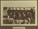 Picture of / about 'Talgai' Queensland - West Talgai football team and coach, ca. 1890