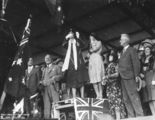 Picture relating to South Brisbane - titled 'Official opening of the Kyogle Railway Line at South Brisbane, 1930'
