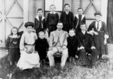Picture relating to Marburg - titled 'Dance family of Marburg, ca. 1905'