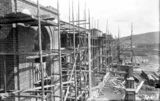 Picture relating to Parliament House - titled 'Old Parliament House front under construction'