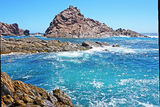 Picture relating to Sugarloaf Rock - titled 'Sugarloaf Rock'