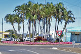 "Bourbon st ""Roundabout"" Bundaberg. Original exclusive street landscape photo art."