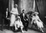 Picture relating to Burrum Heads - titled 'Wedding of Tom and Hazel Keene, Burrum Heads, 1919'