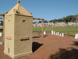 Picture relating to Wagga Wagga - titled 'Chinese Section, Wagga Wagga Cemetery'