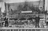 Picture relating to Bundaberg - titled 'Agricultural display at the Bundaberg show, 1912'