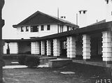 Picture relating to Canberra - titled 'Front Entrance of the Hotel Canberra'