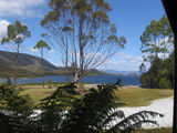 Picture relating to Strathgordon - titled 'Strathgordon - Lake Pedder'