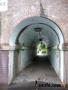 Picture of / about 'Erskineville' New South Wales - Erskineville Railway Bridge Pedestrial Walkway