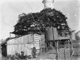 Picture relating to Sandy Cape - titled 'Superintendent's house at Sandy Cape Lighthouse, ca.1907'