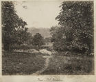 Picture relating to Ingham - titled 'Looking through the garden towards Mount Cordelia, near Ingham, ca. 1881'
