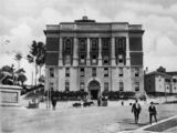 Picture relating to Brisbane - titled 'View of the Trades Hall building in Brisbane, ca. 1928'