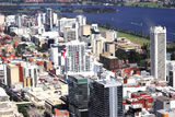 Picture relating to Perth - titled 'Aerial Perth: central business district'