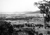 Picture relating to Reid - titled 'View from Red Hill over Capital Hill towards Reid and Civic entre'