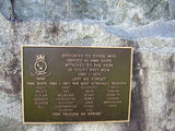 Picture relating to Kilkivan - titled 'Kilkivan - War Memorial Plaque'
