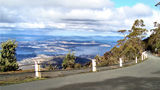 Picture relating to Mount Wellington - titled 'Road up Mount Wellington near Hobart'
