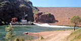 Picture relating to Lake Argyle - titled 'Lake Argyle Power Station'