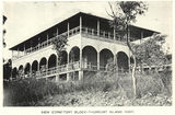 Picture relating to Thursday Island - titled 'Dormitory block at the Thursday Island Fort, ca. 1913'