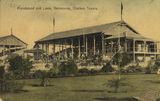 Picture relating to Charters Towers - titled 'Grandstand and lawn at the racecourse, Charters Towers, ca. 1905'