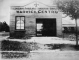 Picture relating to Warwick - titled 'Queensland Ambulance Transport Brigade centre at Warwick, ca. 1905'