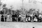 Picture relating to Kilcoy - titled 'Players at the Kilcoy Tennis Club, ca. 1900'