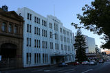 Picture relating to Hobart - titled 'The Mercury Building.'