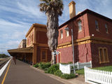 Picture relating to Werris Creek - titled 'Famous Werris Creek railway station'