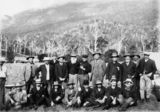 Picture relating to Lamington Plateau - titled 'Group of businessmen and politicians in the Numinbah Valley'