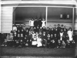 Picture relating to Queensland - titled 'Unidentified school group, 1890-1900'