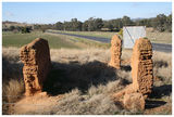 Picture relating to Jugiong - titled 'Old buiding ruins - Jugiong - NSW'