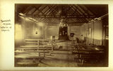 Picture relating to Yarrabah - titled 'Interior of Rev. Ernest Gribble's church at the Yarrabah Mission, North Queensland, 1899'