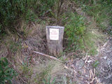 Picture relating to Booroomba Rocks - titled 'Booroomba Rocks Cliffs Warning Sign'