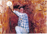 Picture relating to Opalton - titled 'Lucky II. Opal Mine-Opalton'