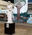 Picture relating to Hurstville - titled 'Miles Franklin  Statue  ( My Brillliant Career) Hurstville NSW'