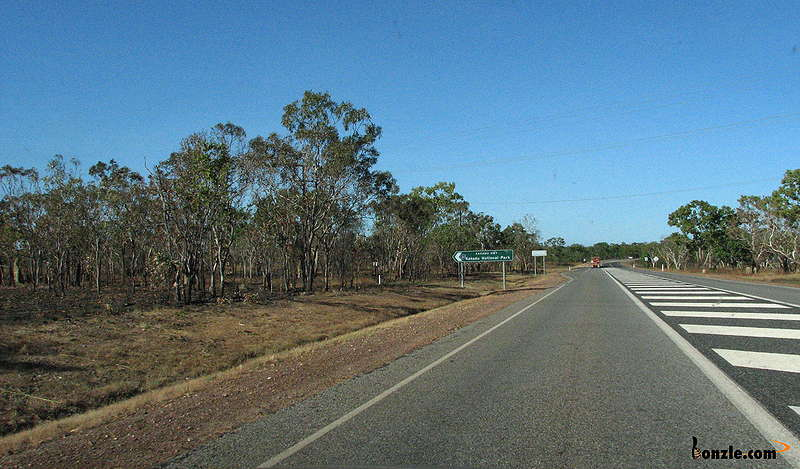 Picture of / about 'Kakadu Highway' the Northern Territory - Start of Kakadu Highway at Pine Creek