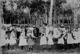 Picture relating to Enoggera - titled 'Sunday school picnic at Enoggera, Brisbane, 1906'