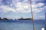 Picture relating to Tangalooma - titled 'Tangalooma Wrecks 1972'