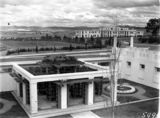 Picture of / about 'Parliament House' the Australian Capital Territory - View to east from Old Parliament House courtyard. East Block Offices to the right.