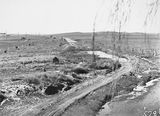 Picture relating to Queanbeyan - titled 'Road to Queanbeyan under construction'