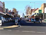 Picture relating to Ulverstone - titled 'Ulverstone Tasmania Reibey Street'