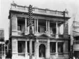 Picture relating to Charters Towers - titled 'Queensland National Bank in Mosman Street, Charters Towers, Queensland, ca. 1920'