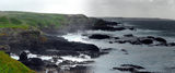 Picture relating to Phillip Island - titled 'Phillip Island - looking west from the Nobbies'