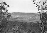 Picture relating to Ainslie - titled 'Telopea Park and Manuka from Mt Ainslie, Capital Theatre in the centre.'