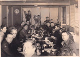 "Picture of / about 'Brisbane' Queensland - Brisbane, B.C.O.F. Officers at ""Sukiyaki Party"" Japan 1946"